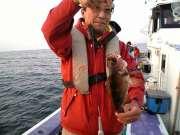 尺メバルなんて初めて釣りました。